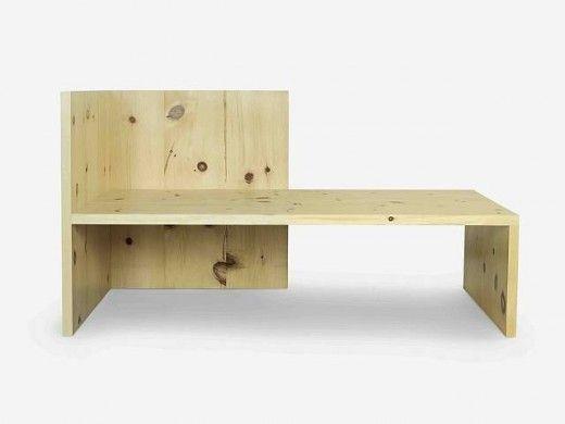 Donald Judd bench.