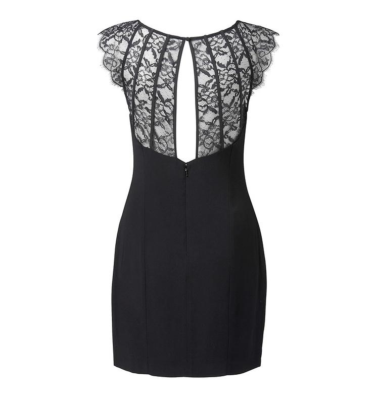 Allia Lace Back Dress - Forever New
