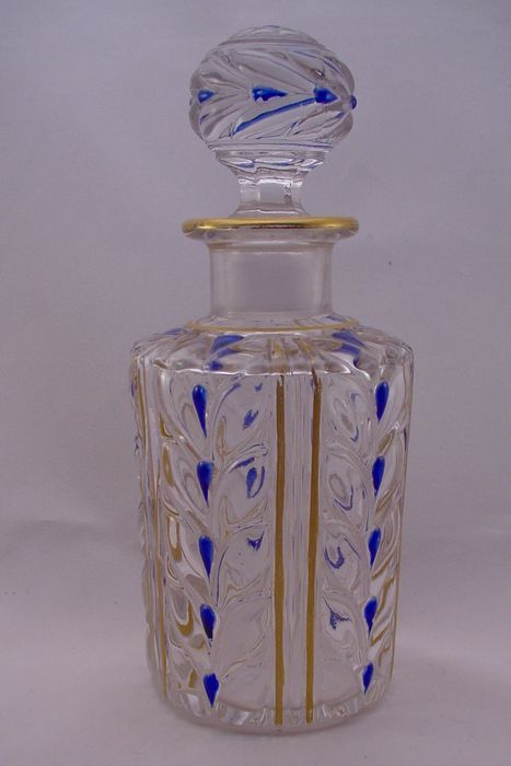 Compagnie des Cristalleries de Baccarat - Parfum Flacon, France, circa 1916