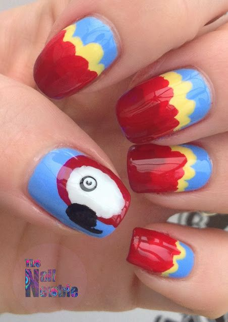 Nail Newbie Notd: 17 Best Images About #Bird/Parrot Care, Training/taming