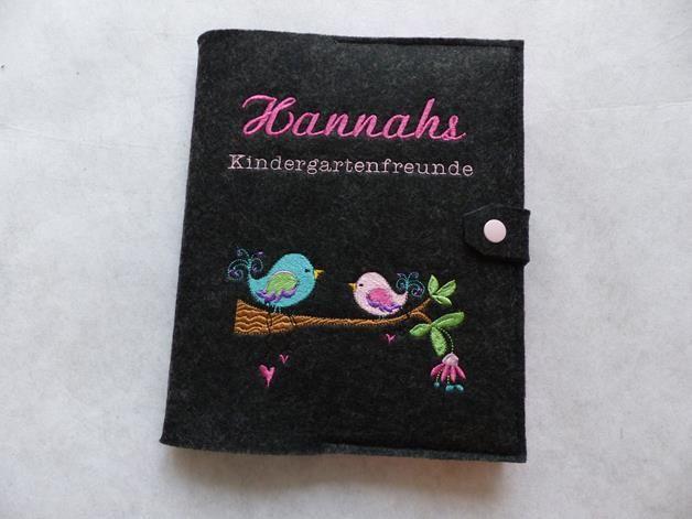 Kindergartenfreundebuch – Vogelliebe
