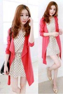 Mini dress korea cantik candise set KK203