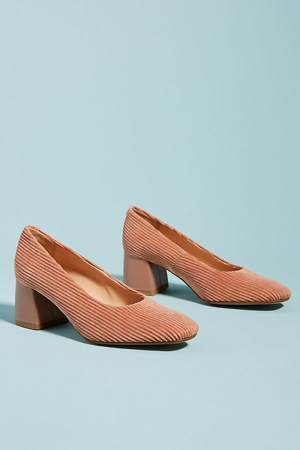 7193e072a14 Slide View  2  Anthropologie Corduroy Block Heels