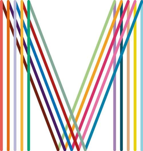 M by Peter Saville, for the city of Manchester. Reminds me of a Parisian metro sign