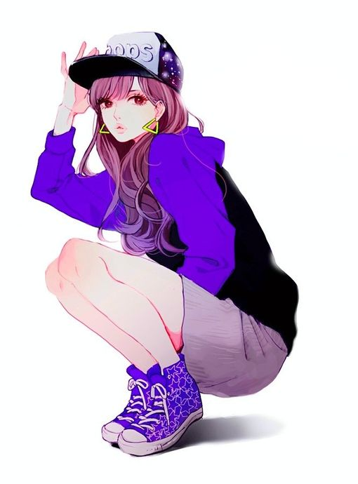 17 best girls swag draw images on pinterest art drawings - Image manga swag ...