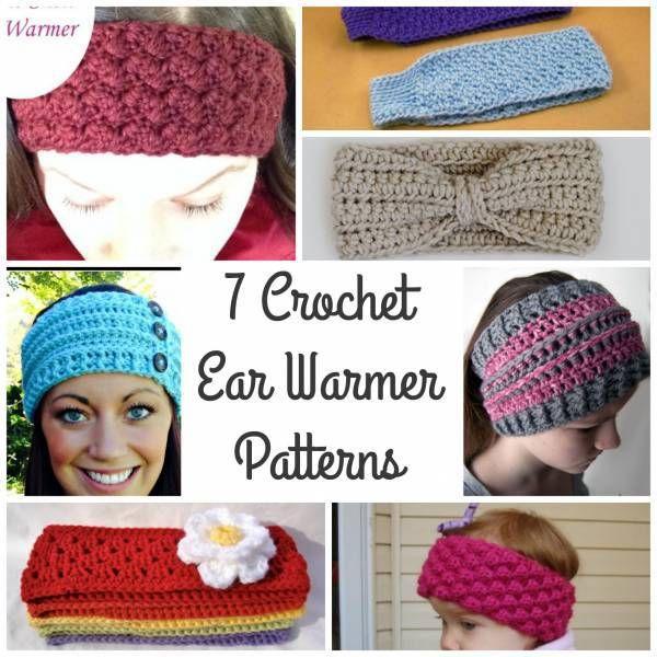 431 best Crochet Headband Ear Warmer images on Pinterest   Knits ...
