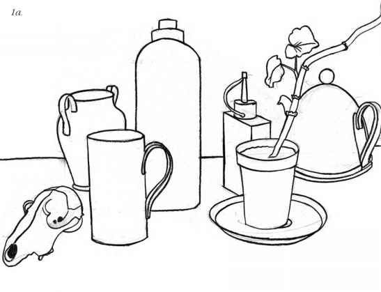 Line Drawing Still Life : Best contour line drawing images on pinterest