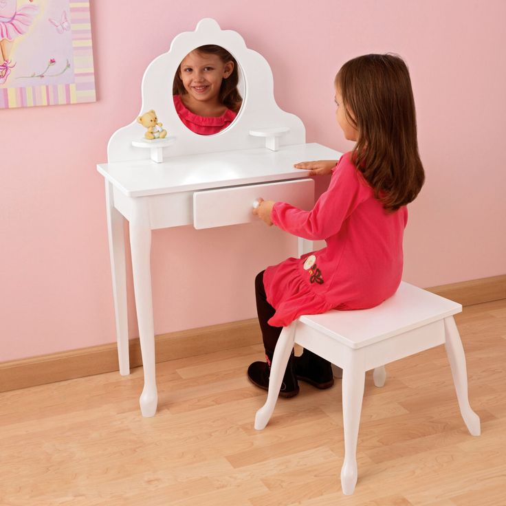 KidKraft Medium Diva Bedroom Vanity Set - 13009 - 13009
