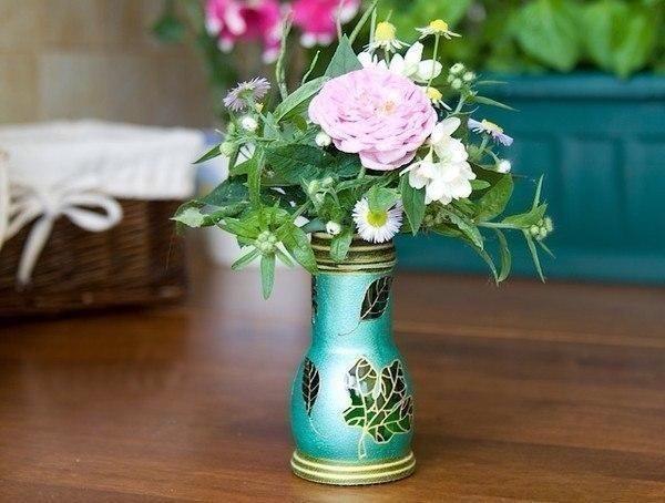 Необыкновенная ваза из обыкновенной бутылки / Западло