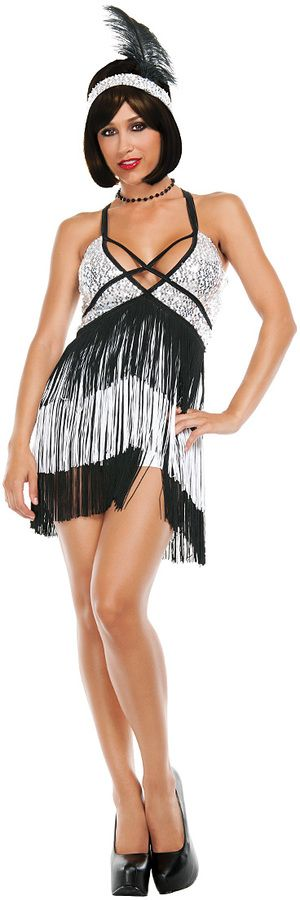 Black & Silver Boardwalk Flapper Costume Set only $59.99 @ Zulily. #promotion