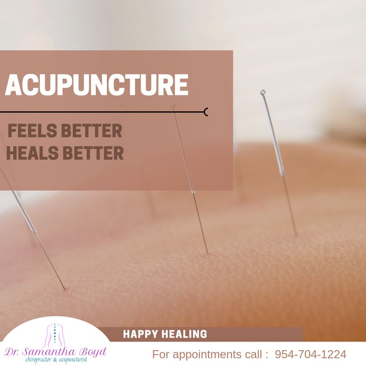 Acupuncture Therapy helps you instantly fell better and ...
