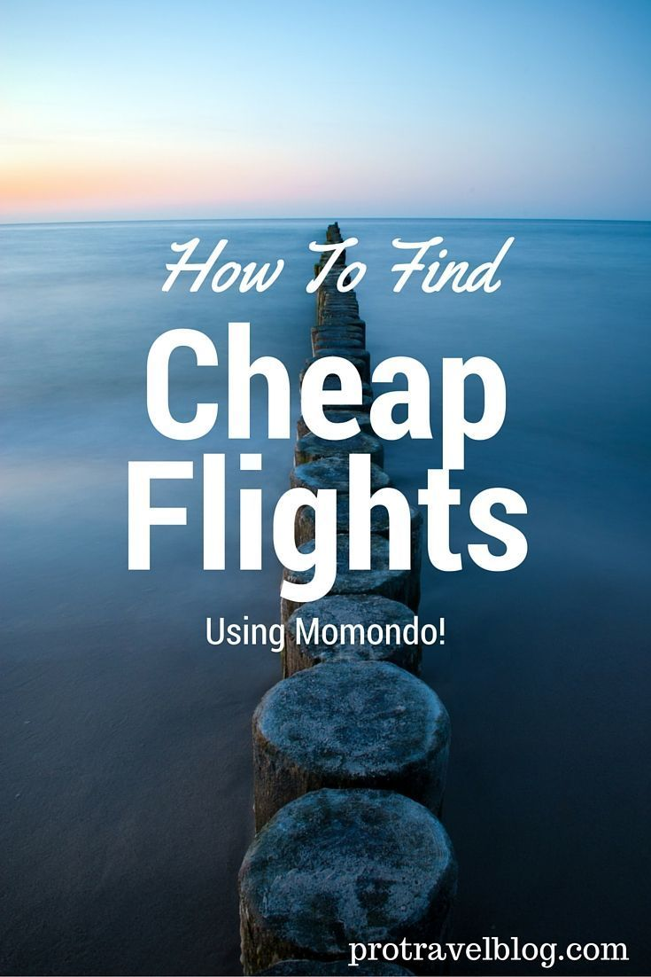 Momondo is an amazing place to find cheap flights! Here's how I use it to find amazing flight discounts anywhere in the world
