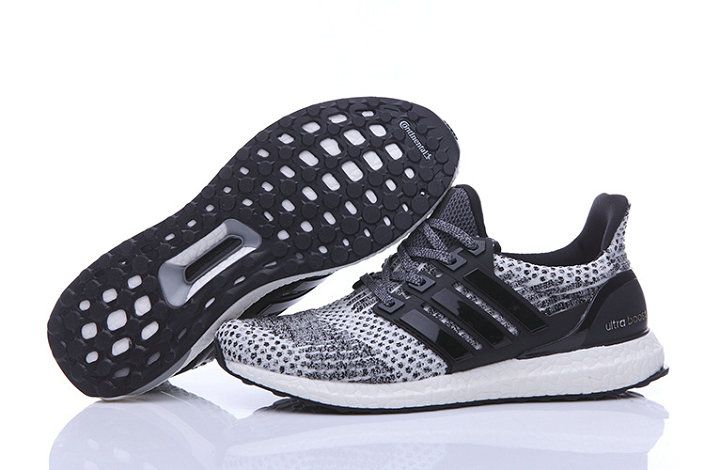 Free Shipping Only 69$ adidas Ultra Boost 2016 2017 Primeknit Black Grey