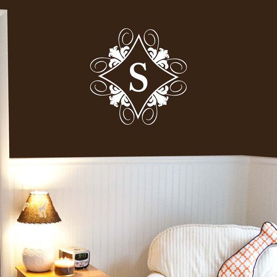 Hey, I found this really awesome Etsy listing at http://www.etsy.com/listing/113221956/22x22-initial-monogram-wall-decal-vinyl