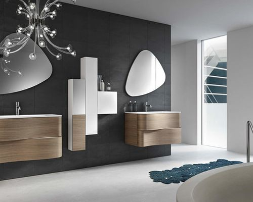 Light is always important on a bathroom! Plus…Check this magnificent projects!| www.delightfull.eu #delightfull #bedroomlamps #bedroomideas #bedroomlighting #homelighting #interiordesign #designlovers