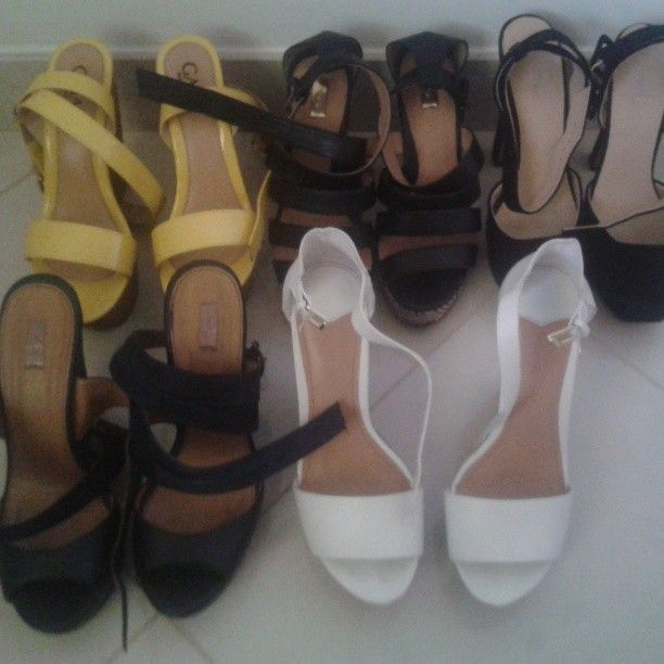 Taking off summer wedges - mettiamo via le zeppe estive! Bye bye #shoes!
