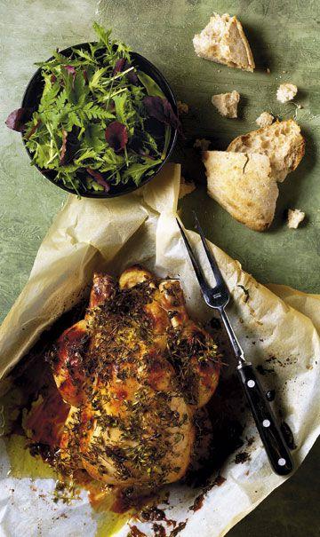 Langtidsstegt kylling i stegeso giver lækkert og saftigt kød