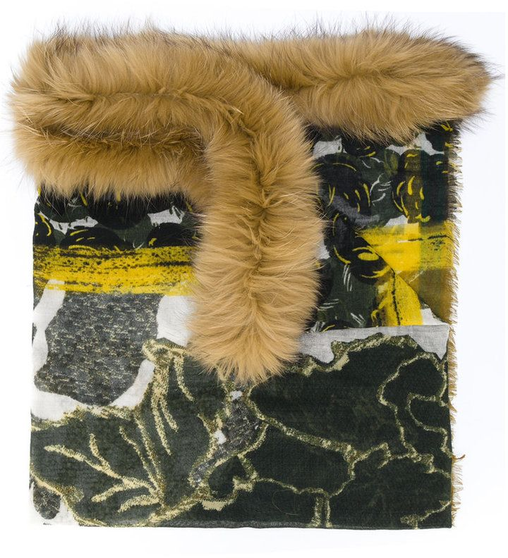 Luisa cerano fake fur mantel