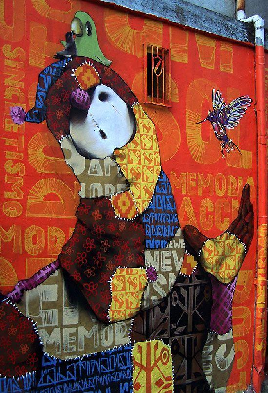 INTI Street Art via Graphic & Sound