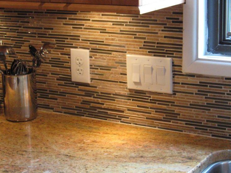 Horizontal Glass Tile Backsplash 44 best backsplash images on pinterest | tile mosaics, bathroom