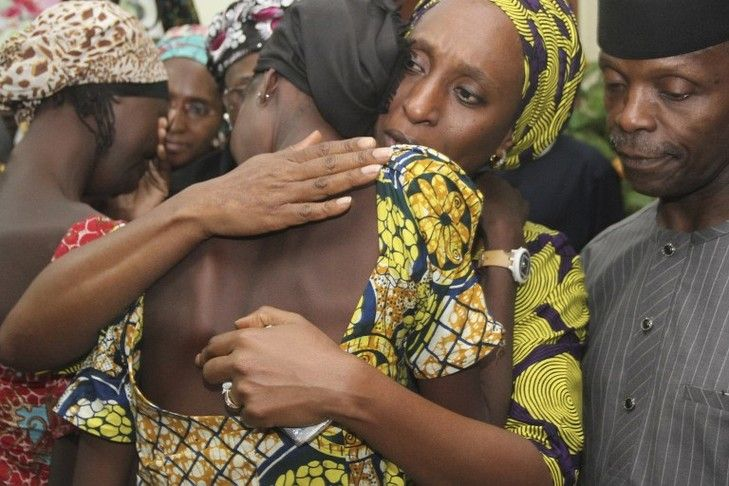 Au Nigeria, 21 lycéennes de Chibok ont été libérées