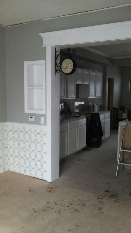 My House In Progress Kit Dining Room Coventry Gray Paint
