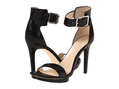 Calvin Klein Calvin Klein  Vivian Snake Print Patent High Heels for 51.99 at Im in! #sale #fashion #I'mIn