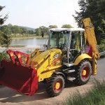 Vintage-styled 3CX backhoe marks JCB's 70th anniversary; tour the company's history in our equipment timeline (PHOTOS)   Equipment World   Construction Equipment, News and Information   Heavy Construction Equipment