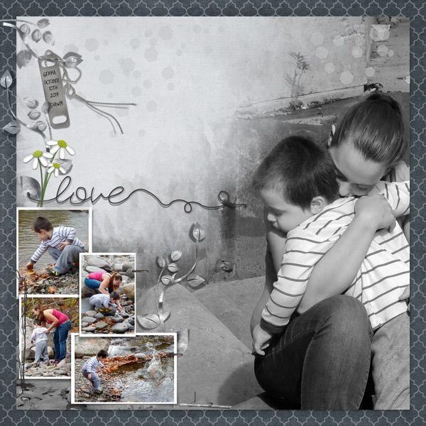 A Day At The Creek by moog. Kits by Meryl Bartho: Daisy a Day http://scrapbird.com/designers-c-73/k-m-c-73_516/meryl-bartho-c-73_516_522/a-daisy-a-day-page-kit-p-17703.html And Masked SpeedScrap 01 http://scrapbird.com/designers-c-73/k-m-c-73_516/meryl-bartho-c-73_516_522/masked-speedscrap-01-p-17738.html