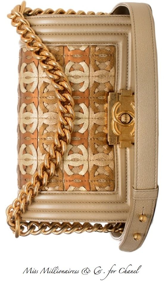 Chanel ~ Tan + Camel Leather Flap Bag