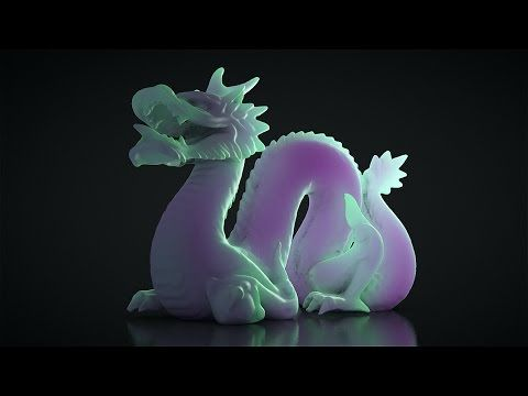 Cinema 4D - Subsurface Scattering Tutorial