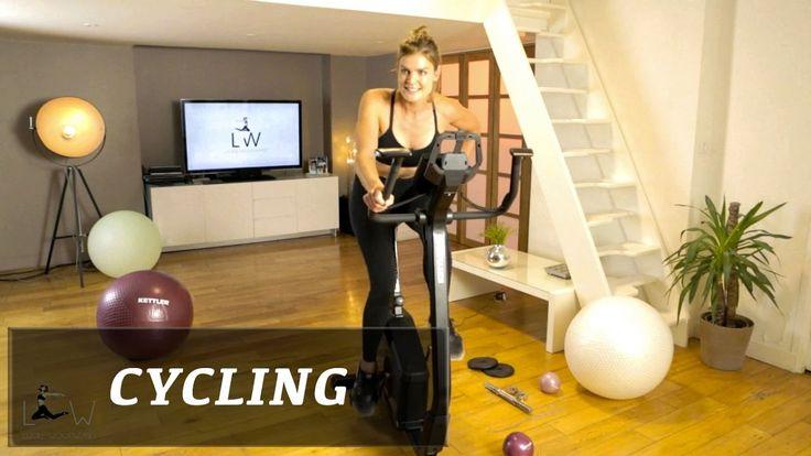 Entrainement Cardio / Abdo sur vélo d'appartement (Cycling Kettler) - FI...