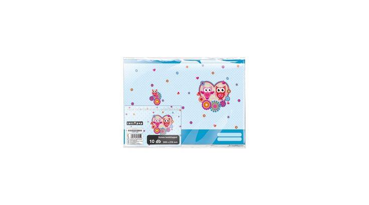 Füzetborító képes A/5 10db/cs Lollipop