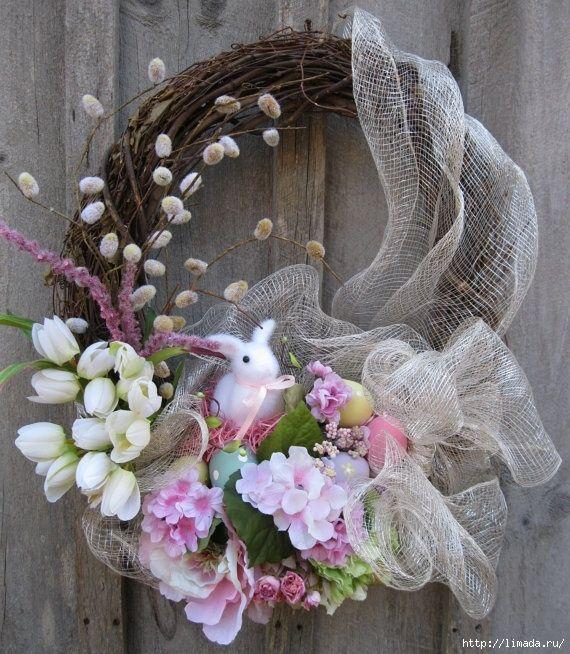 Весенние и пасхальные венки