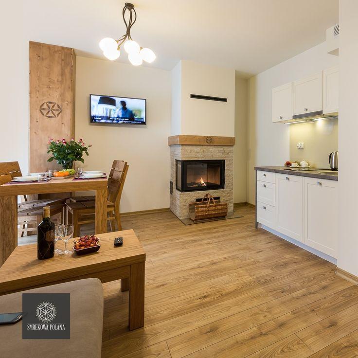 Apartament Storczyk - zapraszamy! #poland #polska #malopolska #zakopane #resort #apartamenty #apartamentos #noclegi #livingroom #salon #kitchenette