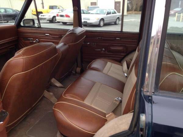 Wagoneer interior. Refurbished