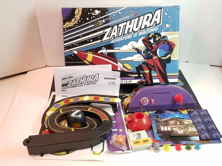 2005 Zathura Board Game Space Robot Movie Complete Pressman 2-4 Players Ages 7+ #Pressman
