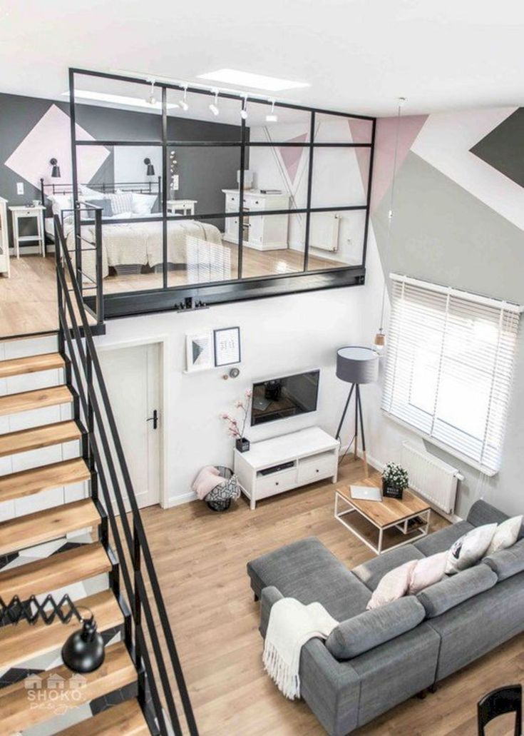 15 Amazing Interior Design Ideas for Modern Loft https://www.futuristarchitecture.com/31513-modern-loft-interior.html #InteriorDesignLoft