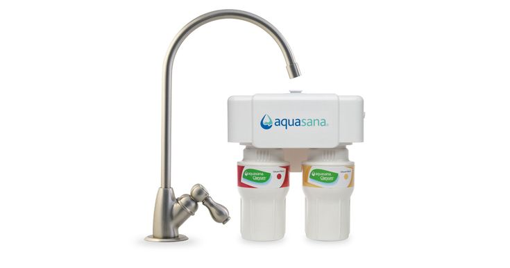 Shop for under counter water filters at Aquasana. Our AQ-5200.55 with brushed nickel faucet is certified to remove 10x contaminants than leading pitchers.