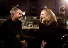 Adele with Zane Lowe