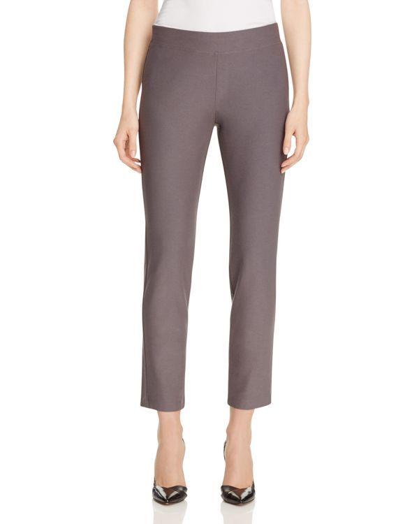 Eileen Fisher Petites Slim Ankle Pants