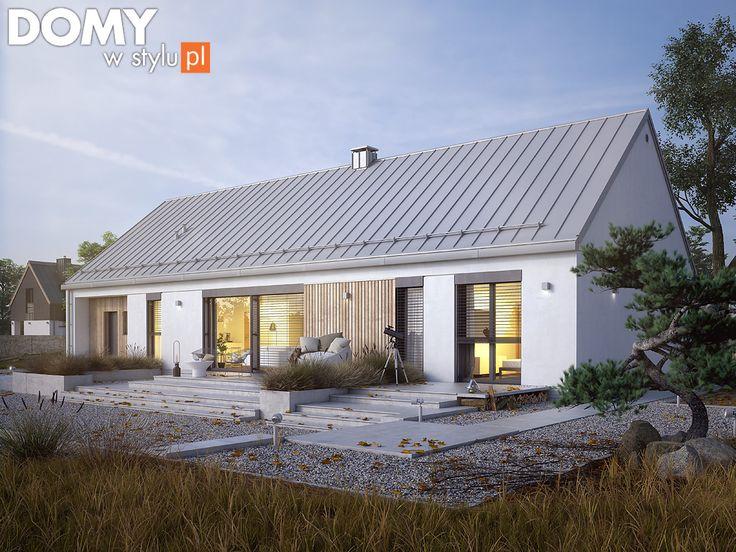 Nowoczesny projekt domu JEMIOŁA 2 (122,22 m2). Pełna prezentacja projektu dostępna jest na stronie: https://www.domywstylu.pl/projekt-domu-jemiola_2.php #projektydomów #projektydomow #projektygotowe #projektdomu #domyparterowe  #house #home #homeproject #homedesign #architektura #architecture #design #domywstylu #mtmstyl