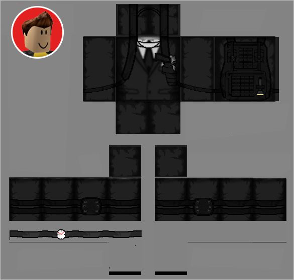 Free Clothes Templates Roblox Uniform