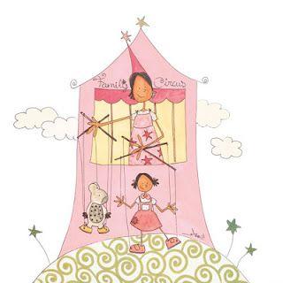 Las marionetas atraen la atención de los niños y de los adultos.