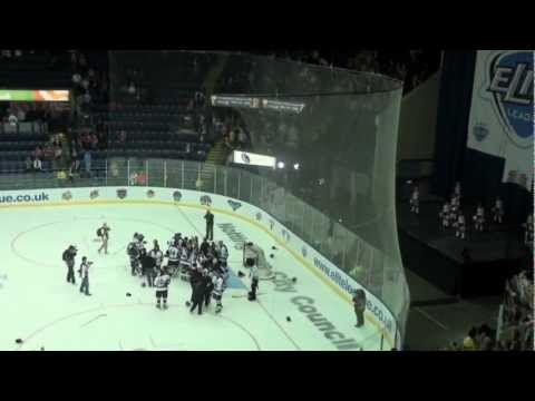 View from the Crowd - Nottingham Panthers Play Off Champions 2012