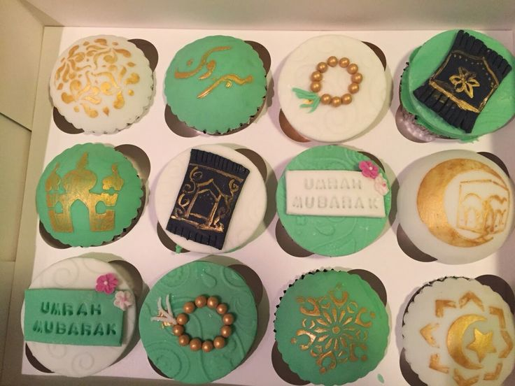 17 Best images about Eid cupcakes Ramadan cupcakes Islamic ...