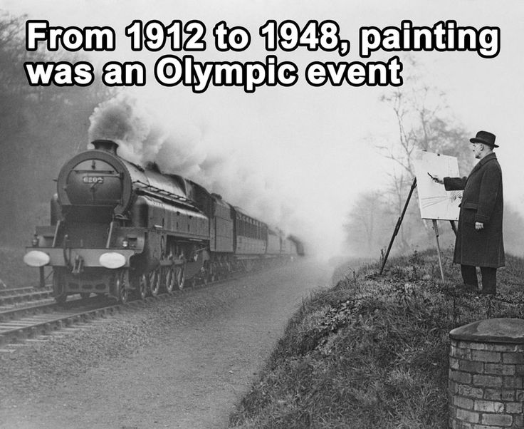 Awesomely random fact. Maybe this will get kids really excited about painting. I sense a lesson idea here.