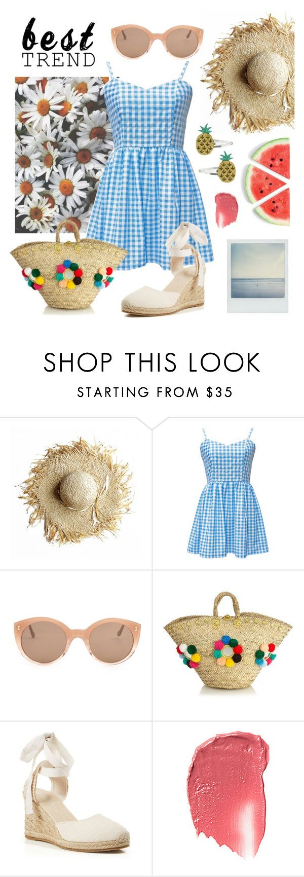 """""""Celebrate Our 10th Polyversary!"""" by sophier on Polyvore featuring Polaroid, Illesteva, Muzungu Sisters, Soludos, Miss Selfridge, polyversary and contestentry"""