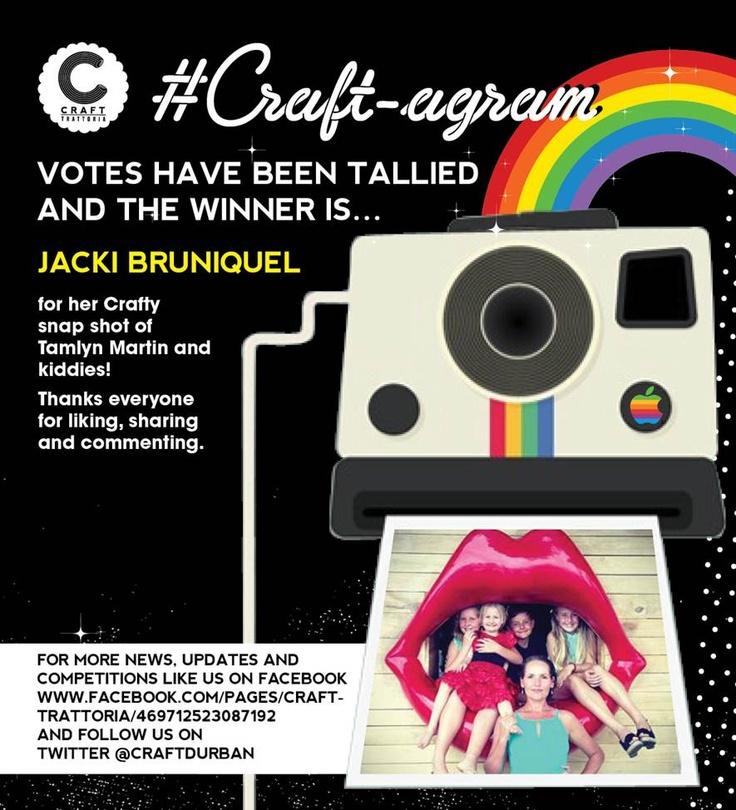 #Craft_agram competition #Crafttrattoria