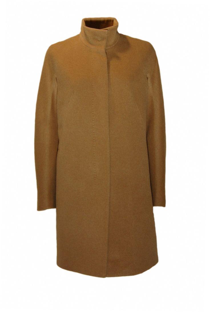 Max Mara Studio Cappotto URANIO Colore Cammello - Max Mara Studio Coat URANIO #maxmarastudio #coat #shopping #fashion #cappotti